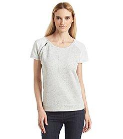 Calvin Klein Jeans Raglan Sleeve Zip Top