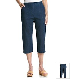 Ruby Rd.® American Dream Solid Pull On Capris