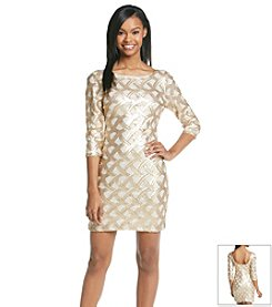 As U Wish® Sequin Bodycon Dress