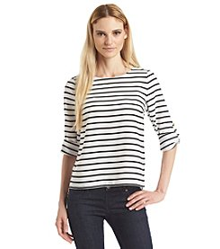 Calvin Klein Striped Pullover Top