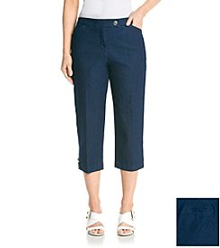 Studio Works® Comfort Waist Denim Crop Pants
