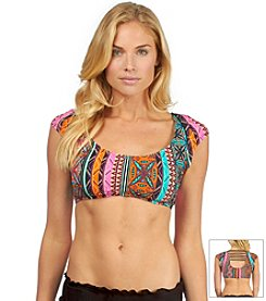 Hobie® Boho Treasure Crop Swim Top