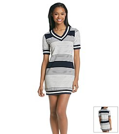 Potter's Pot Athletic Stripe Dress