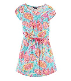 Chaps® Girls' 7-16 Paisley Spring Dress