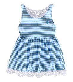 Ralph Lauren Childrenswear Girls' 5-6X Striped Tank