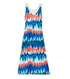 Rare Editions® Girls' 7-16 Tie Dye Maxi Dress