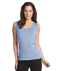 Laura Ashley ® Scoopneck Shell Top