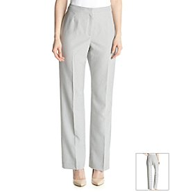 Kasper® Slim Stripe Pant