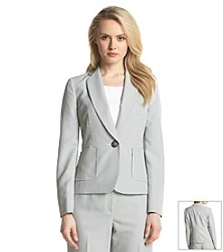 Kasper® Notch Lapel Stripe Jacket
