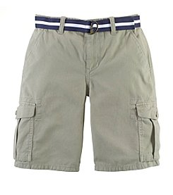 Chaps® Boys' 8-20 Belted Cargo Shorts