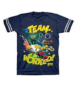 Nickelodeon® Boys' 4-7 SpongeBob Team Worked Tee