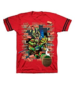 Nickelodeon® Boys' 2T-7 TMNT Burst Into Action Tee
