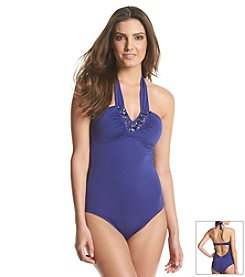 Laundry Glamour Bandeau Swim One Piece