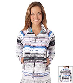 Cuddl Duds® Sport Layer Mock Neck Jacket