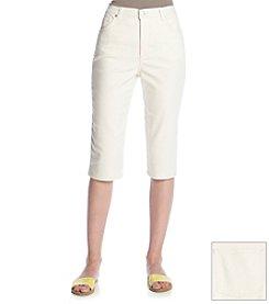 Gloria Vanderbilt® Diamond Jacquard Capri