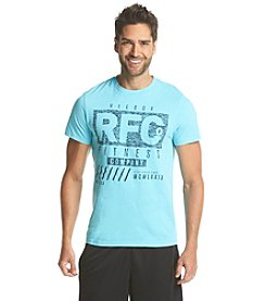 Reebok® Men's Short Sleeve Fitness Heritage Tee