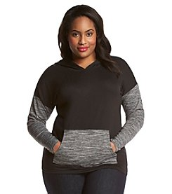 Jones New York Sport® Plus Size Drop Shoulder Pullover