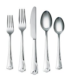 Cambridge Silversmiths Maya Mirror 45-pc. Flatware Set