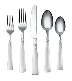 Cambridge Silversmiths Kit Frost 45-pc. Flatware Set