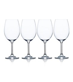 Mikasa® Laura Set of 4 White Wine Glasses