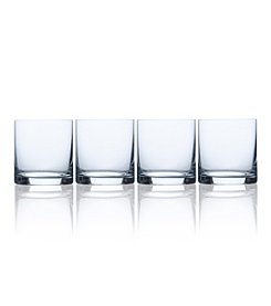 Mikasa® Laura Set of 4 Double Old Fashioned Glasses
