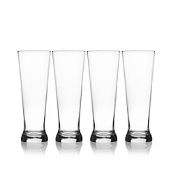 Mikasa® Laura Set of 4 Pilsner Glasses