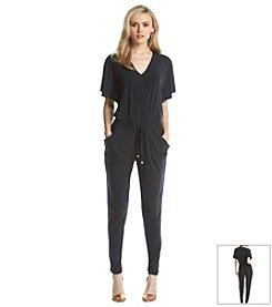 MICHAEL Michael Kors® V-Neck Flutter Sleeve Jumpsuit