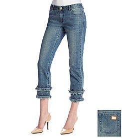 MICHAEL Michael Kors® Fray Hem Jeans