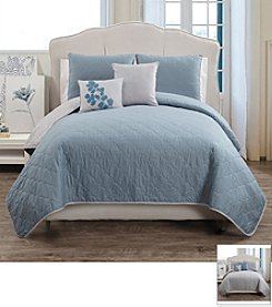 Victoria Classics Asher 5-pc. Reversible Quilt Set