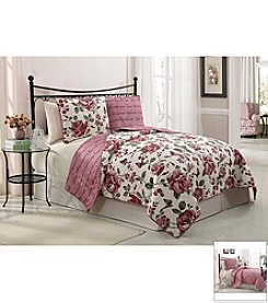 Victoria Classics Bella 3-pc. Reversible Quilt Set