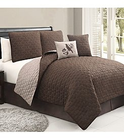Victoria Classics Stockton 5-pc. Reversible Quilt Set