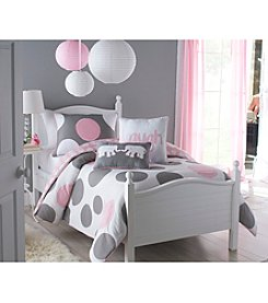 Victoria Classics Pink Parade 3-pc. Reversible Comforter Set