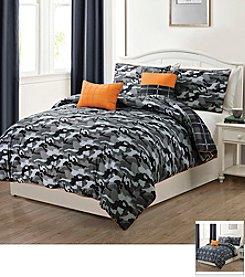 Victoria Classics Brett 5-pc. Reversible Comforter Set
