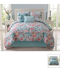 Victoria Classics Kayla 5-pc. Reversible Comforter Set