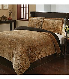 Fraiche Maison Cheetah 3-pc. Comforter Set