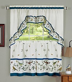 Achim Love Birds Tier and Swag Valance Set