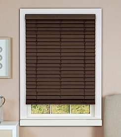 Achim Madera Falsa Faux Wood Plantation Cordless Blind