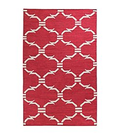 Bashian Hampton Collection Red-FW1 Area Rug