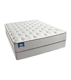 Simmons BeautySleep Pisa Plush Mattress & Box Spring Set