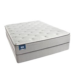 Simmons BeautySleep Pelham Plush Eurotop Mattress & Box Spring Set