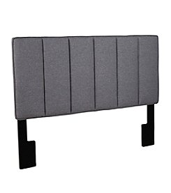 Home Meridian Hayden Grey Upholstered Headboard