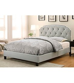 Home Meridian Trespass Marmor Queen Upholstered Bed