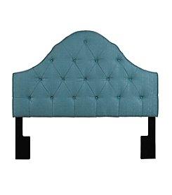 Home Meridian Tuxedo Seafoam Upholstered Headboard