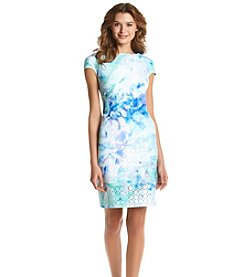 Julia Jordan® Lasercut Sheath Dress