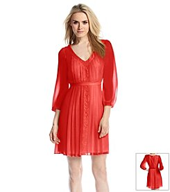 Jessica Simpson Pleated Dress