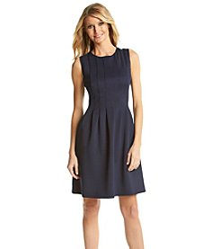 Vince Camuto® Scuba Fit and Flare Dress