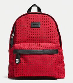 COACH SMALL CAMPUS BACKPACK IN PRINTED CANVAS