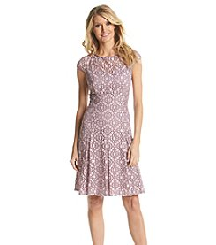 Adrianna Papell® Full Skirt Lace Dress