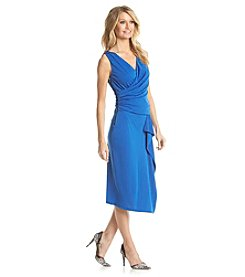 Adrianna Papell® Draped Sheath Dress