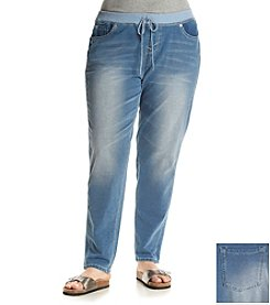 Wallflower® Plus Size Grace Jogger Skinny Denim Pants